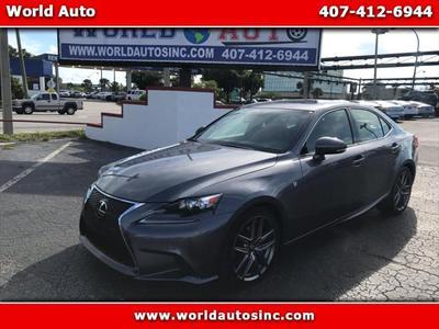 2015 Lexus IS 250 Base for sale VIN: JTHBF1D22F5060283