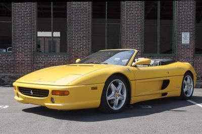 1997 Ferrari F355 Spider for sale VIN: ZFFXR48A2V0108010