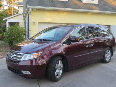 2011 Honda Odyssey Touring for sale VIN: 5FNRL5H96BB005383