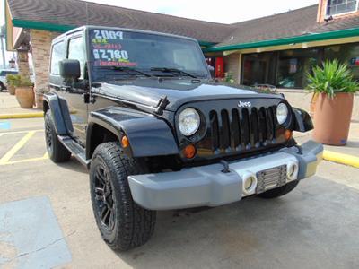 2009 Jeep Wrangler Sahara for sale VIN: 1J8FA54169L778993