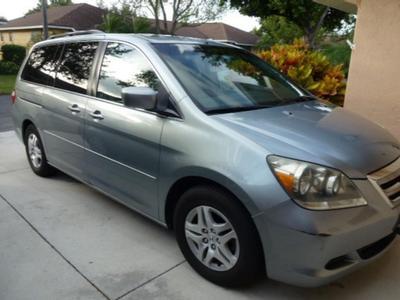 2007 Honda Odyssey EX-L for sale VIN: 5FNRL38667B067450