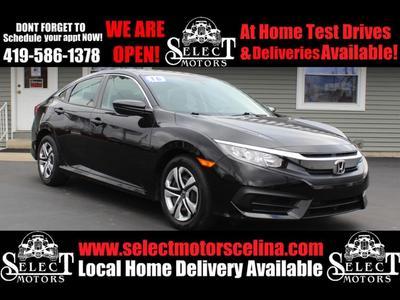Honda Civic 2016 a la venta en Celina, OH