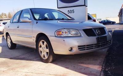 2005 Nissan Sentra 1.8 S for sale VIN: 3N1CB51D15L566977