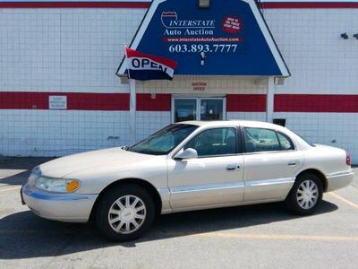 2002 Lincoln Continental  for sale VIN: 1LNHM97V12Y691844