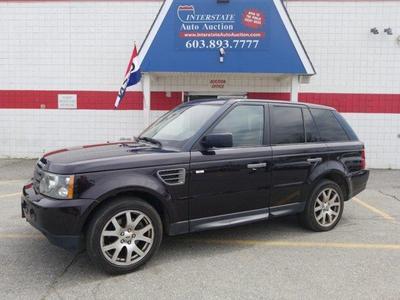 2009 Land Rover Range Rover Sport HSE for sale VIN: SALSK25439A209372