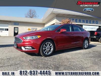 2017 Ford Fusion SE for sale VIN: 3FA6P0HD3HR170478