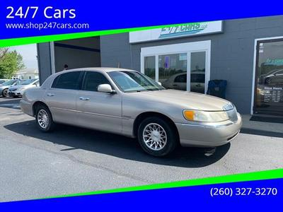 2001 Lincoln Town Car Signature for sale VIN: 1LNHM82W21Y607085