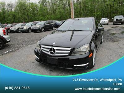 2013 Mercedes-Benz C-Class C 300 4MATIC Sport for sale VIN: WDDGF8AB3DA805900