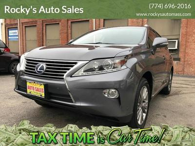 2013 Lexus RX 450h Base for sale VIN: JTJBC1BA1D2064776