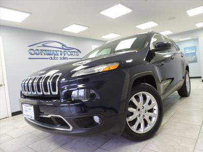2015 Jeep Cherokee Limited for sale VIN: 1C4PJMDS3FW659338