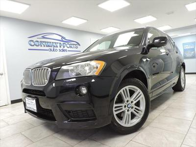 2014 BMW X3 xDrive28i for sale VIN: 5UXWX9C54E0D10663
