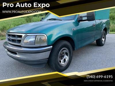 Credit Pro Auto >> Used 1998 Ford F 150 Xlt Regular Cab Pickup In Stafford Va Auto Com 1ftzf1721wnc22318