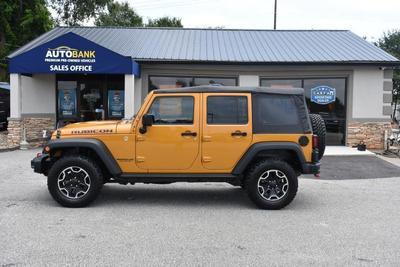 2014 Jeep Wrangler Unlimited Rubicon for sale VIN: 1C4HJWFG5EL167645