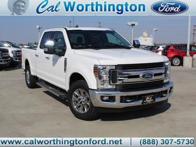 Cal Worthington Ford >> New 2019 Ford F 250 Xl Crew Cab Pickup In Long Beach Ca Near