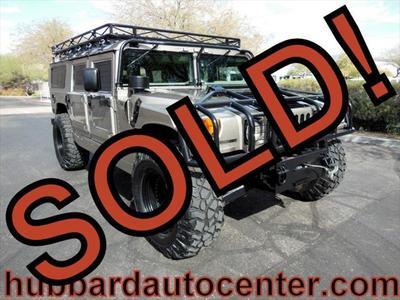 2000 AM General Hummer  for sale VIN: 137ZA8437YE190193