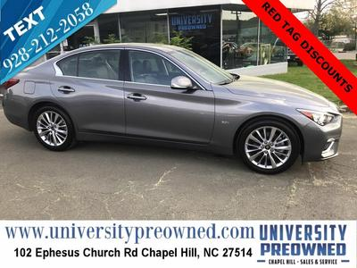 INFINITI Q50 2020 for Sale in Chapel Hill, NC