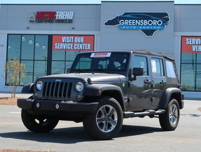 Jeep Wrangler Unlimited 2017 for Sale in Greensboro, NC