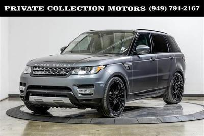 2017 Land Rover Range Rover Sport 3.0L Turbocharged Diesel HSE Td6 for sale VIN: SALWR2FK1HA673852