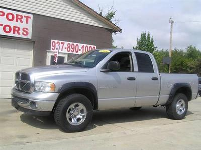 2004 Dodge Ram 1500 SLT Quad Cab for sale VIN: 1D7HU18N24J126136