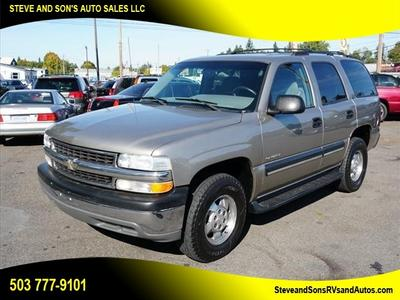 Chevrolet Tahoe 2001 for Sale in Happy Valley, OR