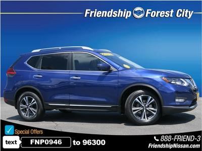2017 Nissan Rogue SL for sale VIN: 5N1AT2MT0HC836280