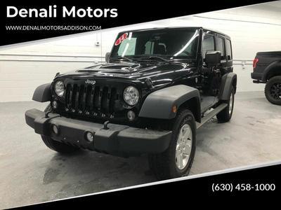 Jeep Wrangler Unlimited 2014 for Sale in Addison, IL