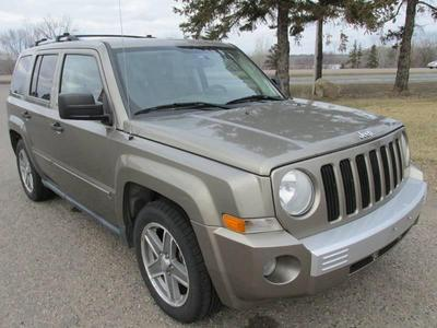 2007 Jeep Patriot Limited for sale VIN: 1J8FF48W17D323645