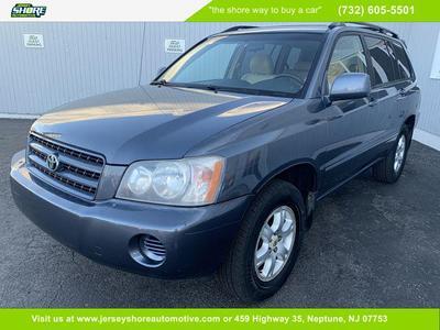 Toyota Highlander 2002 for Sale in Neptune, NJ