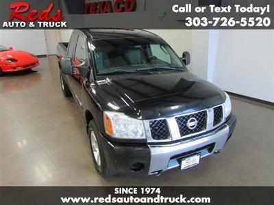 2006 Nissan Titan XE King Cab for sale VIN: 1N6AA06B86N521843