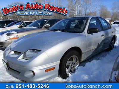 2002 Pontiac Sunfire SE for sale VIN: 1G2JB52F427242818