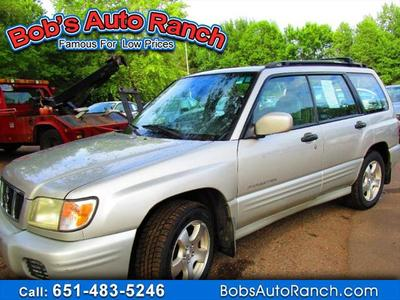 2001 Subaru Forester S for sale VIN: JF1SF65641H737315