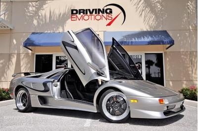 1998 Lamborghini Diablo  for sale VIN: ZA9DU21BXWLA12951