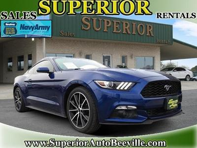 2016 Ford Mustang EcoBoost for sale VIN: 1FA6P8TH2G5283798