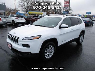 2016 Jeep Cherokee Latitude for sale VIN: 1C4PJMCS6GW235977