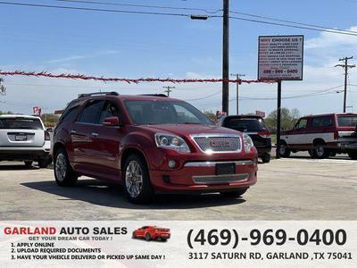 GMC Acadia 2012 a la venta en Garland, TX