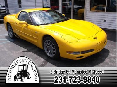 Chevrolet Corvette 2002 for Sale in Manistee, MI