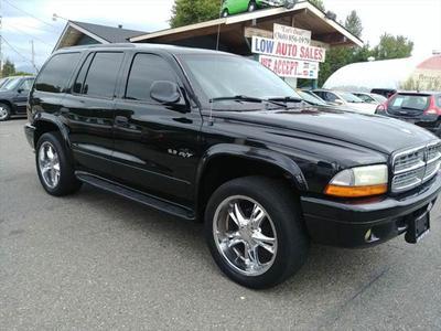Dodge Durango 2002 a la venta en Sedro Woolley, WA