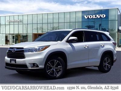 Toyota Highlander 2016 for Sale in Glendale, AZ