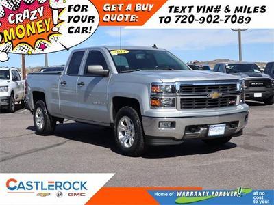 Chevrolet Silverado 1500 2014 for Sale in Castle Rock, CO