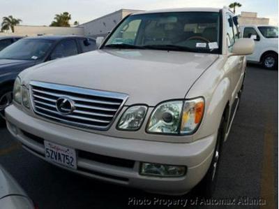 2007 Lexus LX 470  for sale VIN: JTJHT00W074025060