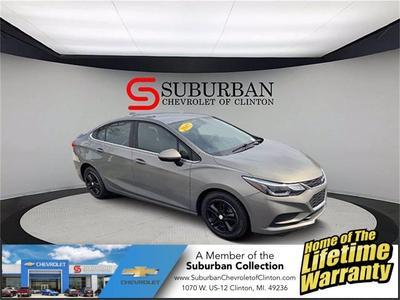 Chevrolet Cruze 2017 a la venta en Clinton, MI