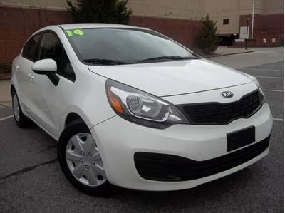 2014 KIA Rio LX for sale VIN: KNADM4A38E6395293