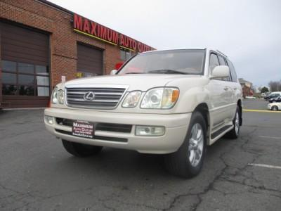 2003 Lexus LX 470  for sale VIN: JTJHT00W633532626