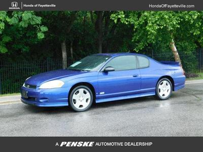 2006 Chevrolet Monte Carlo SS for sale VIN: 2G1WL16C969226179