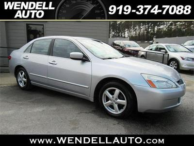 2005 Honda Accord EX-L for sale VIN: 1HGCM568X5A129796