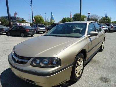2005 Chevrolet Impala Base for sale VIN: 2G1WF52E859129804