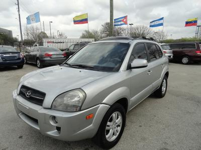 2007 Hyundai Tucson Limited for sale VIN: KM8JN12D97U476807