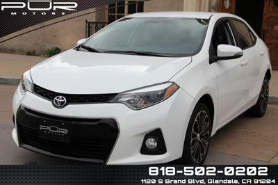 2016 Toyota Corolla S for sale VIN: 5YFBURHE4GP387668