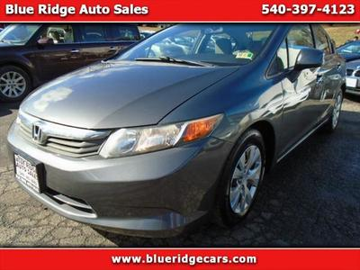 2012 Honda Civic LX for sale VIN: 19XFB2F55CE315603
