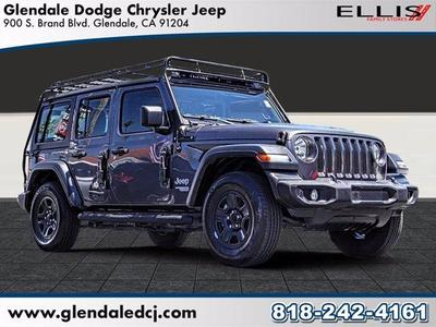 Jeep Wrangler Unlimited 2018 for Sale in Glendale, CA